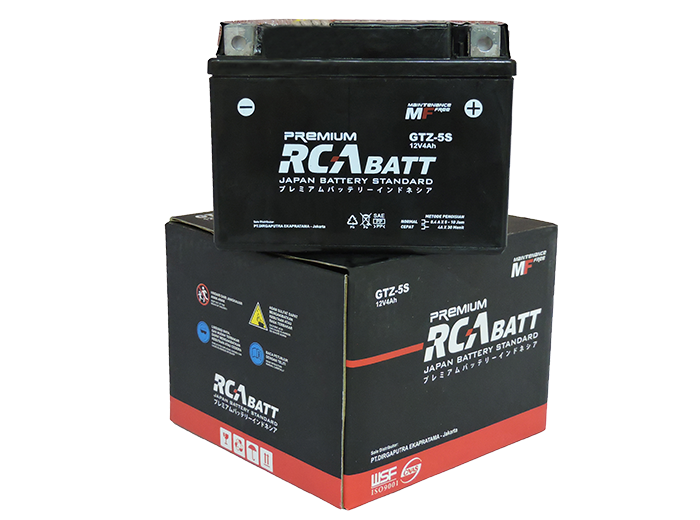 Motorcycle Battery RCA